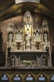 圣帕特里克大教堂在曼哈顿,纽约,美国 库存照片