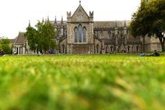 圣帕特里克大教堂在都伯林 库存图片