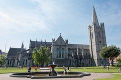 圣帕特里克大教堂-都伯林,爱尔兰 库存图片
