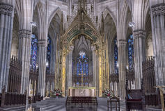 圣帕特里克大教堂 库存照片
