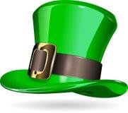 圣帕特里克帽子 免版税库存图片