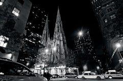 圣帕特里克的大教堂在曼哈顿纽约 免版税库存照片
