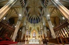圣帕特里克的大教堂,纽约城 免版税库存照片