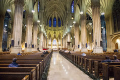 圣帕特里克的大教堂 免版税图库摄影