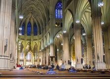 圣帕特里克的大教堂 免版税库存照片