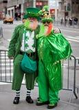 圣帕特里克的天游行纽约2013年 免版税图库摄影