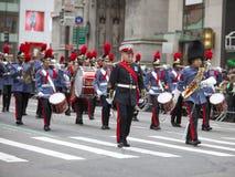 圣帕特里克的天游行纽约2013年 免版税库存照片