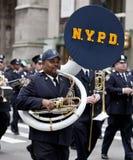 圣帕特里克的天游行纽约2013年 免版税库存图片