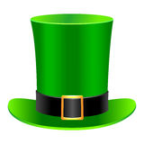 圣帕特里克的帽子 免版税库存照片
