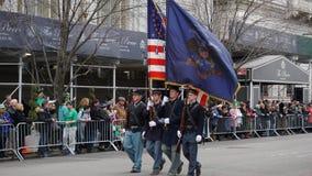 2015年圣帕特里克节游行158 免版税图库摄影
