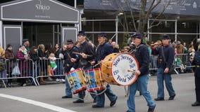 2015年圣帕特里克节游行166 免版税图库摄影