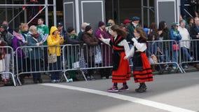 2015年圣帕特里克节游行307 免版税图库摄影