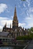 圣帕特里克` s大教堂在墨尔本 免版税库存图片