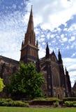 圣帕特里克` s大教堂在墨尔本 库存照片