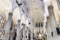 圣帕特里克` s大教堂,纽约 库存图片