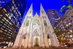 圣帕特里克` s大教堂 免版税库存图片