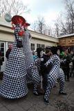 圣帕特里克` s天庆祝在莫斯科 免版税库存照片