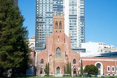 圣帕特里克` s天主教,旧金山2017年 免版税库存照片