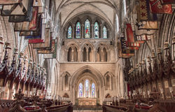圣帕特里克s大教堂在都伯林,爱尔兰 免版税库存图片
