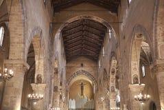 圣弗朗切斯科二阿西西教会看法  库存图片