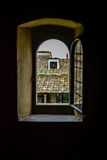 圣弗朗切斯科修道院,菲耶索莱 免版税库存照片