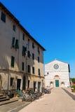 圣弗朗切斯科教会在卢卡,意大利 免版税库存图片