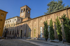 圣弗朗切斯科教会, Lodi,意大利 免版税库存图片