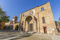 圣弗朗切斯科教会, Lodi,意大利 免版税库存照片