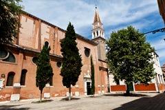 圣弗朗切斯科della豇豆,威尼斯,意大利 图库摄影