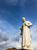 圣弗朗西斯泽维尔雕象,马六甲 图库摄影