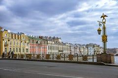圣彼得堡大厦和建筑学 免版税库存照片