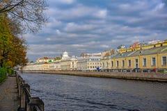 圣彼得堡大厦和建筑学 免版税库存图片