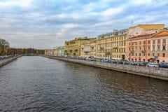 圣彼得堡大厦和建筑学 免版税图库摄影