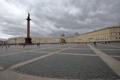 圣彼得堡宫殿正方形 库存图片