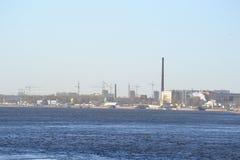 圣彼得堡工业郊外  库存图片