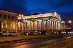 圣彼得堡,俄罗斯全景  免版税库存照片