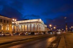 圣彼得堡,俄罗斯全景  免版税库存图片