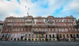 圣彼得堡,俄罗斯都市风景  库存图片