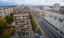 圣彼得堡,俄罗斯都市风景  免版税库存图片
