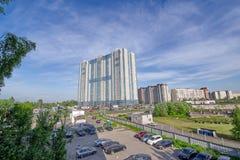 圣彼得堡,俄罗斯- 2018年6月01日:睡觉区域看法  免版税图库摄影