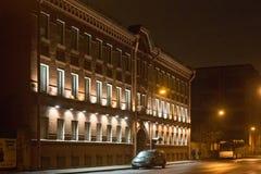 圣彼得堡,俄罗斯- 2014年11月03日:艺术家的协会的前房子 图库摄影