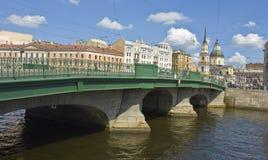 圣彼得堡,安娜和Simenon教会  图库摄影
