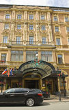 圣彼得堡,盛大旅馆 库存照片