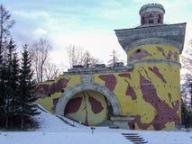圣彼得堡, Tsarskoye Selo普希金,俄罗斯 公园 免版税库存图片