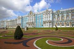 圣彼得堡, Tsarskoye Selo普希金,俄罗斯 免版税库存图片