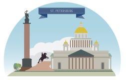 圣彼得堡 库存例证