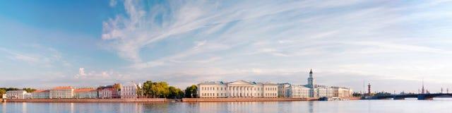 圣彼得堡panaromic风景 免版税库存照片