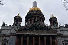 圣彼得堡St以撒` s大教堂 免版税库存照片