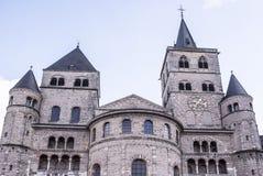 圣彼得大教堂最旧的基督教会在德国 库存照片
