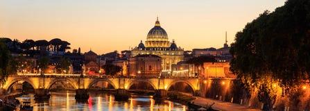 圣彼得大教堂-梵蒂冈-罗马,意大利 库存照片